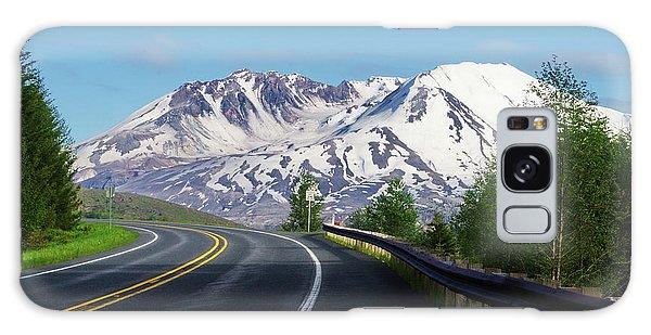 Spirit Lake Highway To Mt. St. Helens Galaxy Case