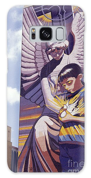 Spirit Of Healing Mural San Antonio Texas Galaxy Case