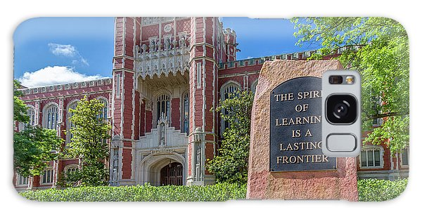 Oklahoma University Galaxy Case - Spirit Of Learning Statue At The University Of Oklahoma  by Ken Wolter