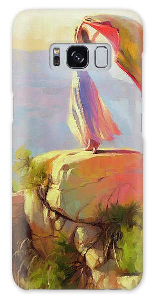 Breeze Galaxy Case - Spirit Of The Canyon by Steve Henderson