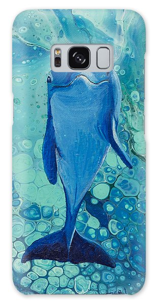 Galaxy Case featuring the painting Spirit Of The Ocean by Darice Machel McGuire