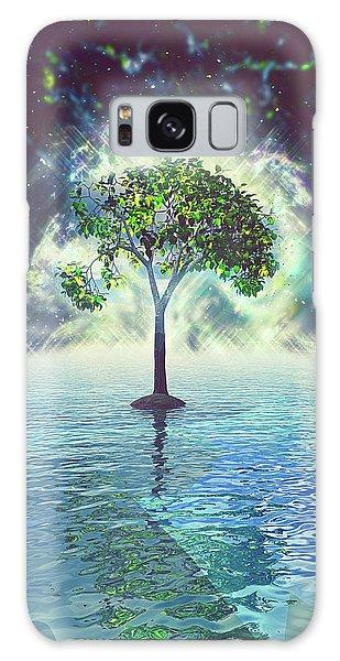 Spirit Tree Galaxy Case