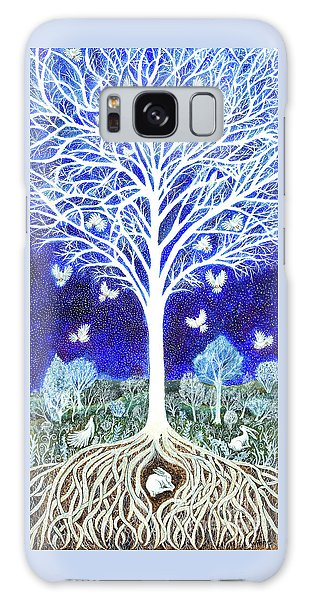 Spirit Tree Galaxy Case