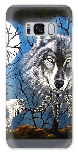 Spirit Wolf Galaxy Case