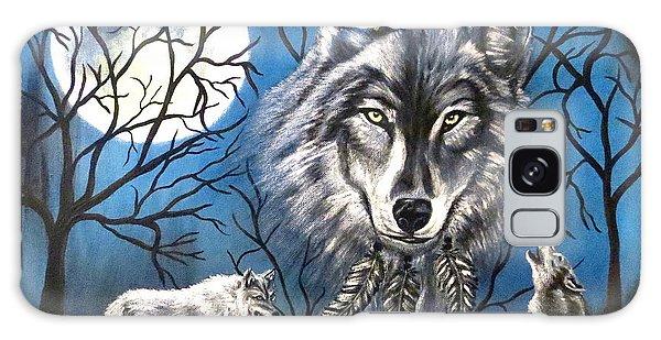 Spirit Wolf Galaxy Case