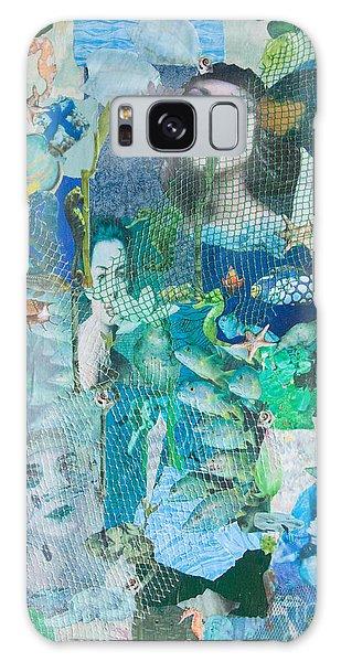 Spirits Of The Sea Galaxy Case by Sandy McIntire