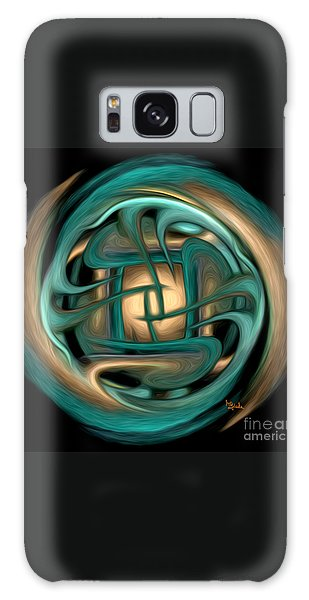 Spiritual Art - Healing Labyrinth By Rgiada Galaxy Case
