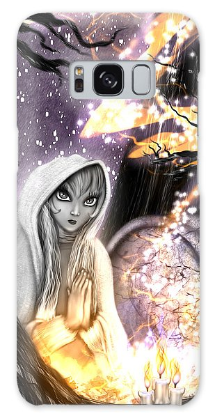Spiritual Ghost Fantasy Art Galaxy Case