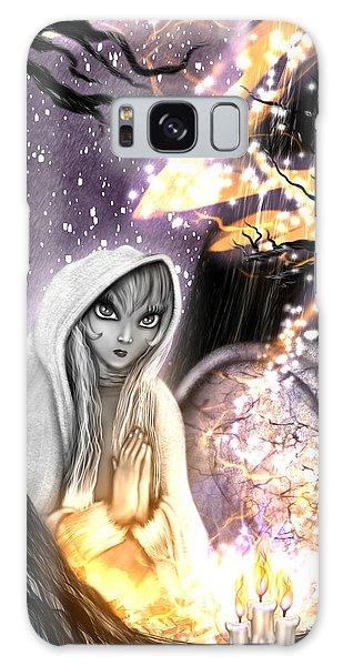 Spiritual Ghost Fantasy Art Galaxy Case
