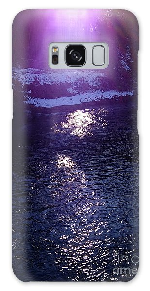 Spiritual Light Galaxy Case by Tatsuya Atarashi