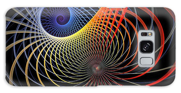 Fractal Galaxy Case - Spirograph by Amanda Moore
