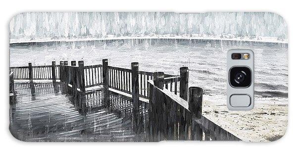 Board Walk Galaxy Case - Spit In The Rain by Jorgo Photography - Wall Art Gallery