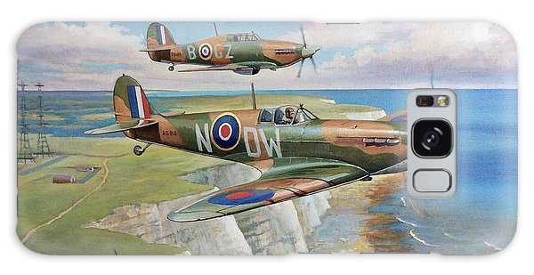 Spitfire And Hurricane 1940 Galaxy Case