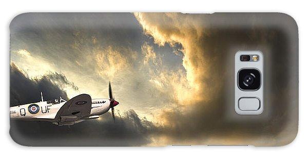 Airplanes Galaxy Case - Spitfire by Meirion Matthias