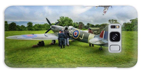 Pilot Galaxy Case - Spitfire Parade by Adrian Evans