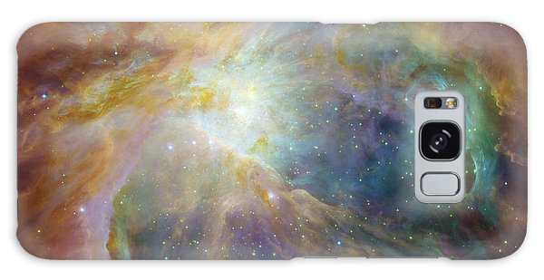 Spitzer And Hubble Create Colorful Masterpiece Galaxy Case