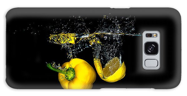 Splash Of  Pepper And Lemon Galaxy Case