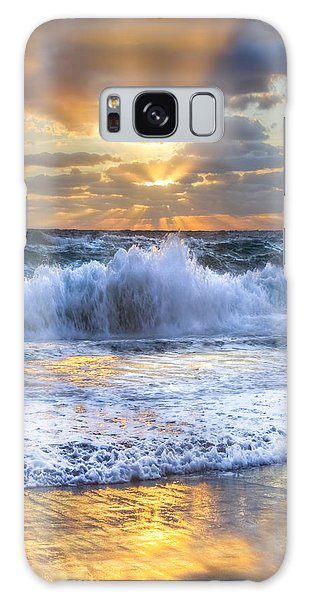 Boynton Galaxy S8 Case - Splash Sunrise II by Debra and Dave Vanderlaan