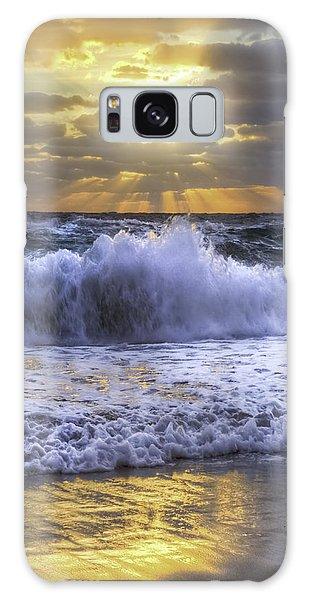 Boynton Galaxy S8 Case - Splash Sunrise IIi by Debra and Dave Vanderlaan