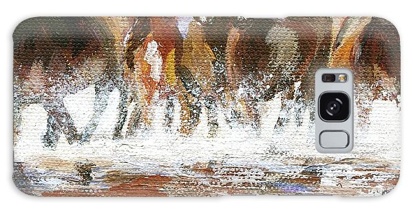 Galaxy Case featuring the painting Splashing Around by Jamie Frier