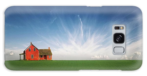English Countryside Galaxy Case - Splendid Isolation by Evelina Kremsdorf