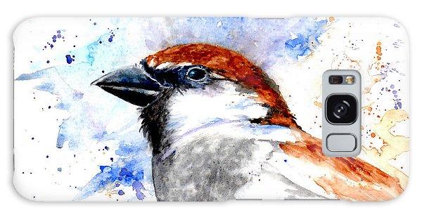 Splendid Sparrow Galaxy Case