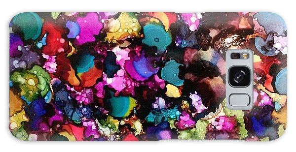 Galaxy Case featuring the painting Splendor by Denise Tomasura