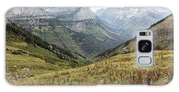 Splendor From Highline Trail - Glacier Galaxy Case