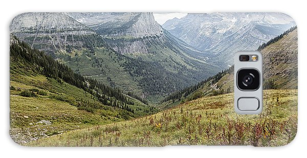 Galaxy Case featuring the photograph Splendor From Highline Trail - Glacier by Belinda Greb