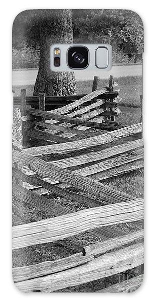 Split Rail Fence Galaxy Case by Eric Liller