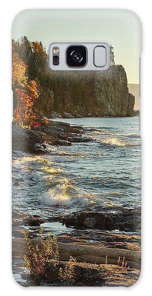 Split Rock Lighthouse At Sunrose Galaxy Case