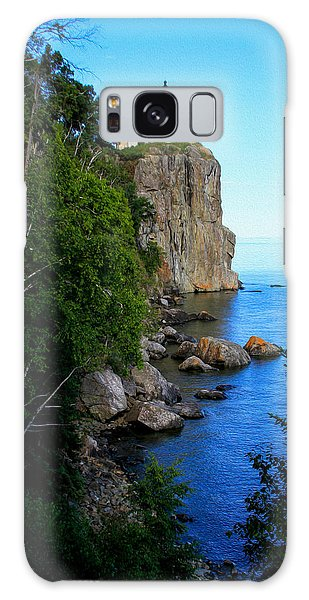 Split Rock Lighthouse Galaxy Case