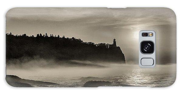 Split Rock Lighthouse Emerging Fog Galaxy Case
