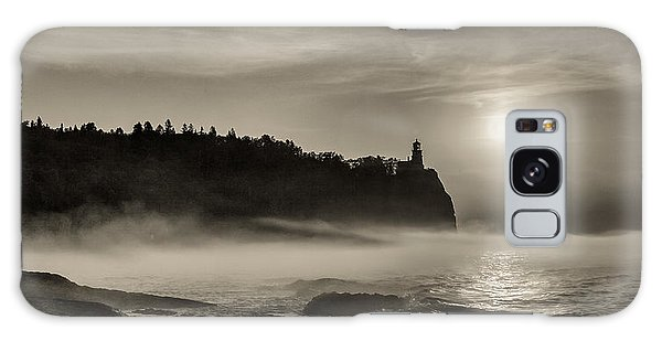 Split Rock Lighthouse Emerging Fog Galaxy Case