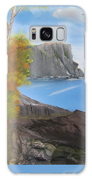 Split Rock Lighthouse Minnesota Galaxy Case