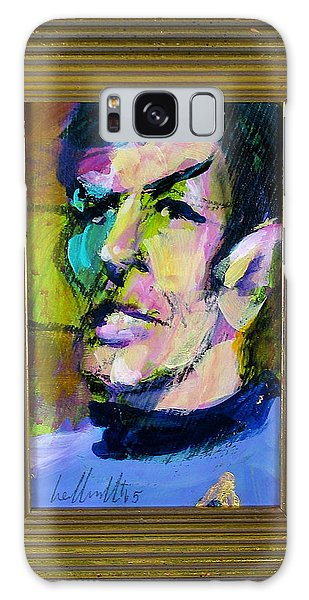 Spock Galaxy Case by Les Leffingwell