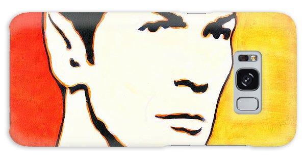 Spock Vulcan Star Trek Pop Art Galaxy Case by Bob Baker