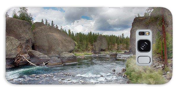 Spokane River Galaxy Case
