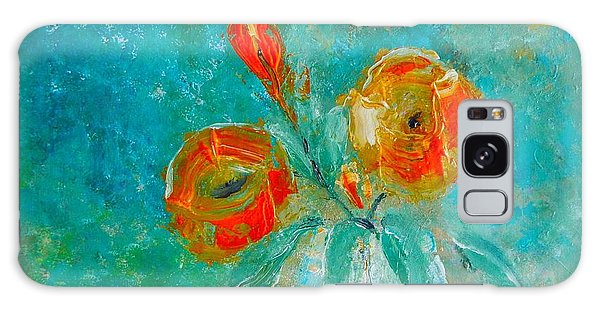 Palette Knife Floral Galaxy Case by Lisa Kaiser