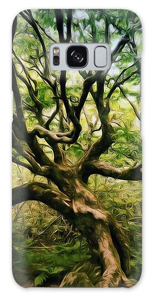 Spooky Tree Galaxy Case
