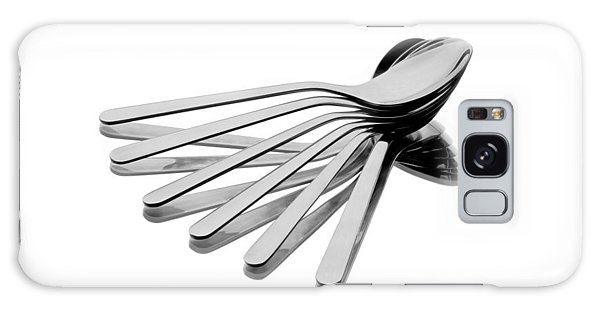 Spoon Fan Galaxy Case by Gert Lavsen