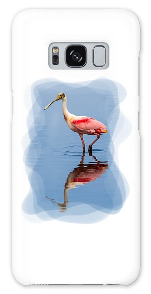 Spoonbill 3 Galaxy Case