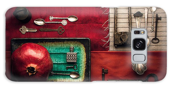 Spoons, Locks And Keys Galaxy Case
