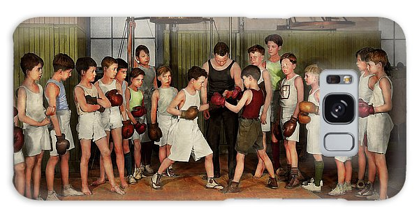 Sport - Boxing - Fists Of Fury 1924 Galaxy Case by Mike Savad