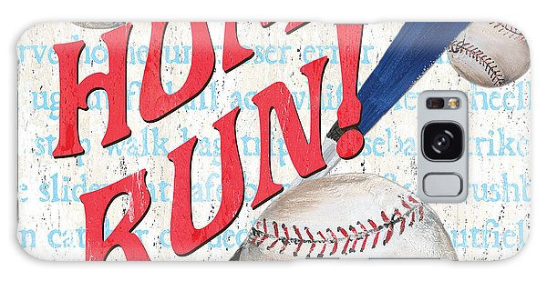 Baseball Bats Galaxy S8 Case - Sports Fan Baseball by Debbie DeWitt