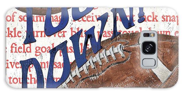 Sports Fan Football Galaxy Case by Debbie DeWitt