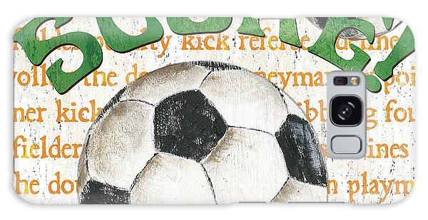 Sports Fan Soccer Galaxy Case