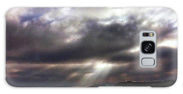 Spot O' Sun Galaxy Case by Michael McGowan