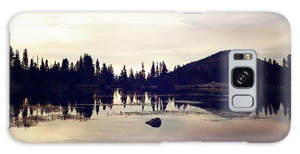 Sprague Lake At Sunset Galaxy Case