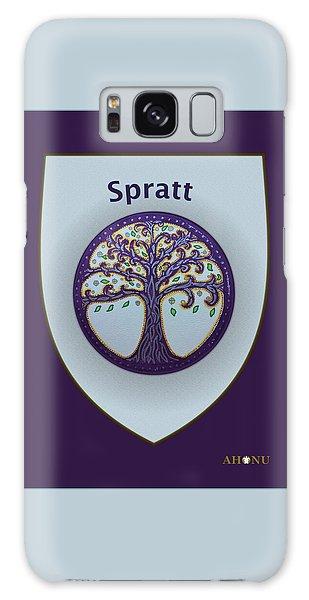 Spratt Family Crest Galaxy Case